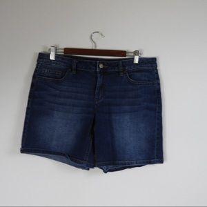 C4 LC Lauren Conrad Jean Shorts Size 12